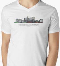 Sheffield Icons - Sheffield Hallam University Men's V-Neck T-Shirt