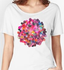 Watercolor dots Women's Relaxed Fit T-Shirt