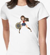 Wonder Woman Women's Fitted T-Shirt