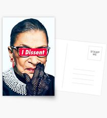 Postales Notorious RBG - I Dissent