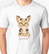 Sassy Serval Unisex T-Shirt