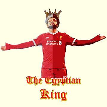 Mo Salah - Egyptian King by dno123