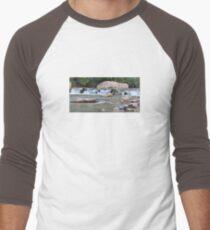 Zion Long Exposure Men's Baseball ¾ T-Shirt
