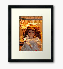 Musical Doll Framed Print