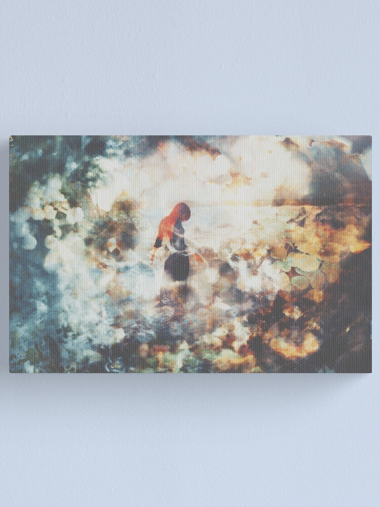 Alternate view of Là où l'onde s'étiole ... Canvas Print