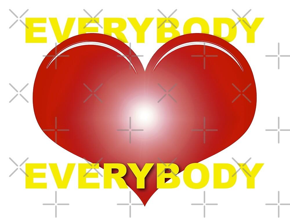 Everybody Love Everybody iPhone / Samsung Galaxy Case by Tucoshoppe