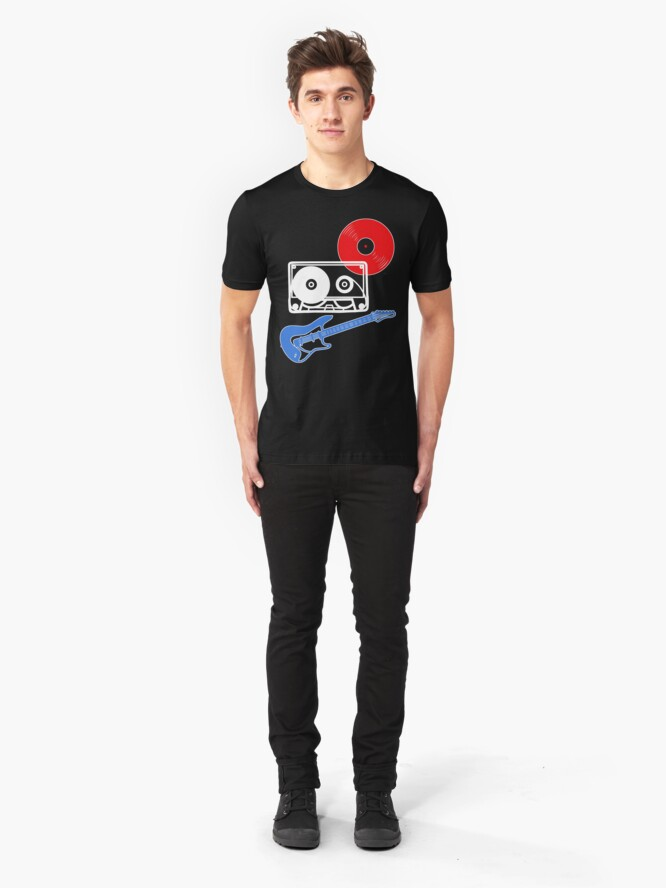 Alternate view of Rock 'n' Roll Slim Fit T-Shirt