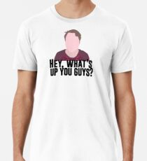 Was geht los, Leute? Männer Premium T-Shirts