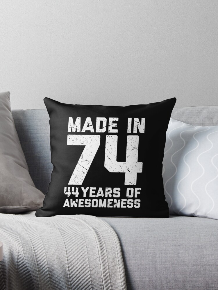44th Birthday Gift Adult Age 44 Year Old Men Women