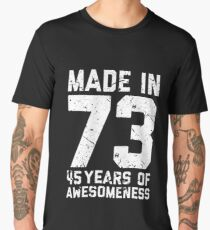 45th Birthday Gift Adult Age 45 Year Old Men Women Mens Premium T Shirt