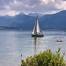 Day Out on Lake Chiem by Kasia-D