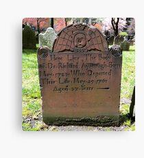 Lienzo Trinity Church Cemetery, NYC