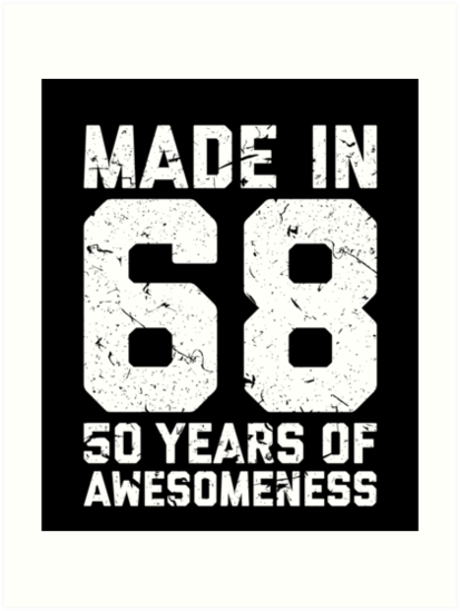 50th Birthday Gift Adult Age 50 Year Old Men Women