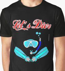 Let's Dive Graphic T-Shirt