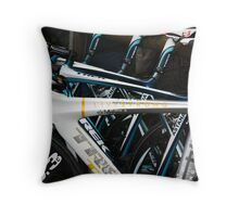 Livestrong bike Throw Pillow