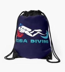 Scuba Diving Team Drawstring Bag