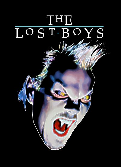 The Lost Boys - Coloured Variant by Candywrap Design