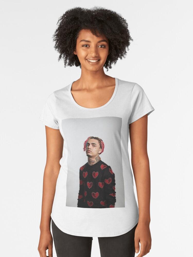 0d91efd236d Camiseta premium para mujer «Lil Pump Gucci Sweater Supreme Style» de  bensdesiigns