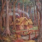 House in the Woods by HDPotwin