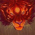 Fire Tiger by KLeCrone