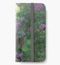 Blooming Though Abandoned iPhone Wallet/Case/Skin