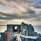 Bunker on a Headland - Alderney by NeilAlderney