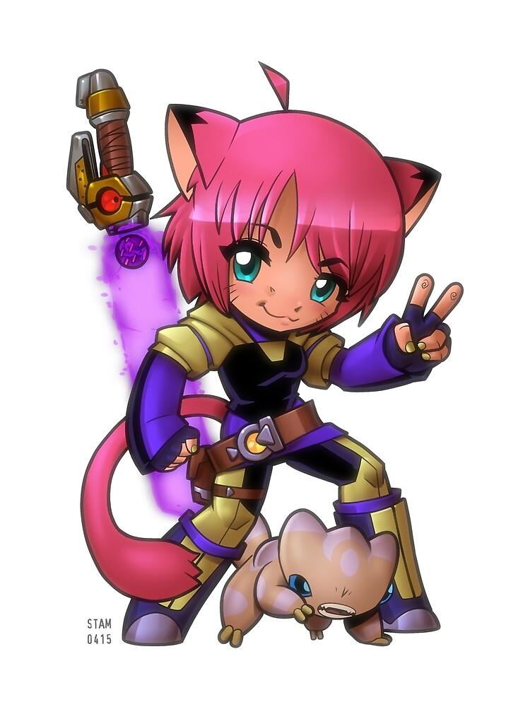 Teeny Blade Kitten by Steve Stamatiadis
