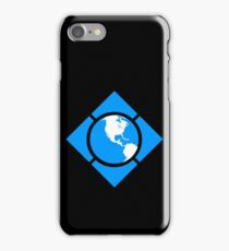 World of Tech Black iPhone Case/Skin