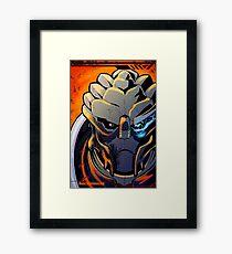 Garrus Inferno Framed Print