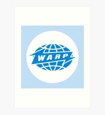 Warp Records Logo  Art Print
