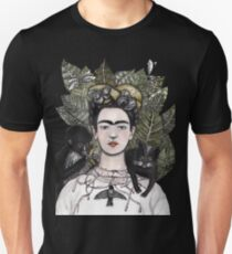 Frida Kahlo self portrait version Unisex T-Shirt