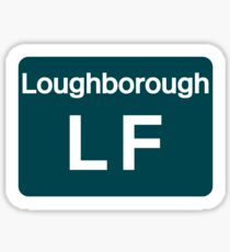 Loughborough LF depot Sticker