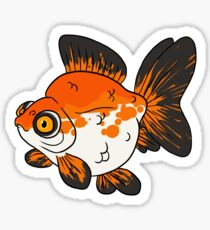 Fancy Goldfish - Demekin Sticker