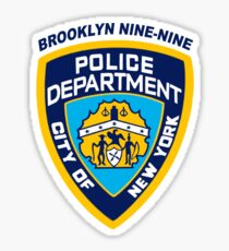 Brooklyn Nine-Nine NYPD Badge Sticker