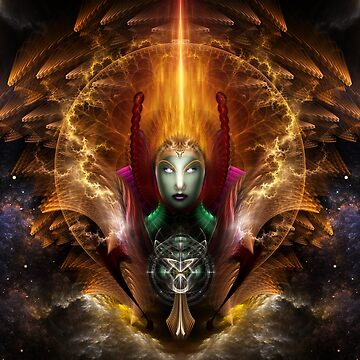 Riddian Queen Of Cosmic Fire by xzendor7