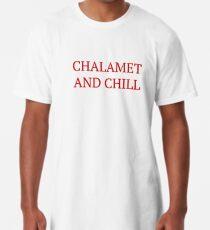 Chalamet und Chill - Timothee Chalamet Longshirt