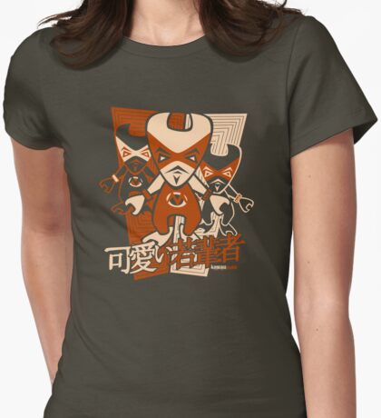 Muscle Mascot Stencil T-Shirt