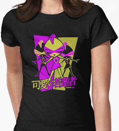Punk Mascot Stencil T-Shirt
