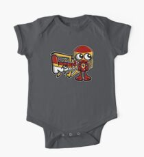 Tiny Mascot Tag One Piece - Short Sleeve