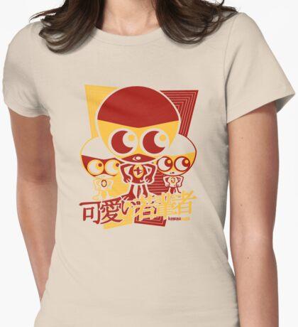 Tiny Mascot Stencil T-Shirt