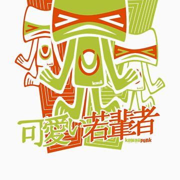 Unlucky 13 Mascot Stencil by KawaiiPunk
