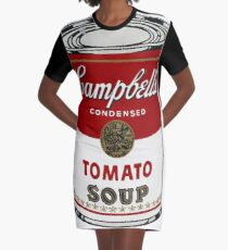 Campbells Tomato Soup - Andy Warhol  Graphic T-Shirt Dress