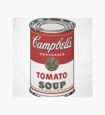 Campbells Tomato Soup - Andy Warhol  Scarf