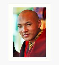 Ogyen Trinley Dorje. Sidphur, India 2004 Art Print