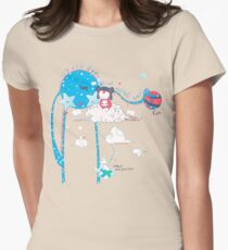 Day Dreamer Womens Fitted T-Shirt