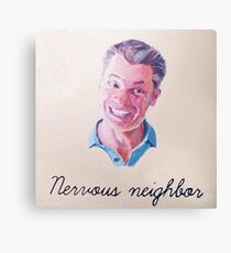 Nervous Neighbor Canvas Print