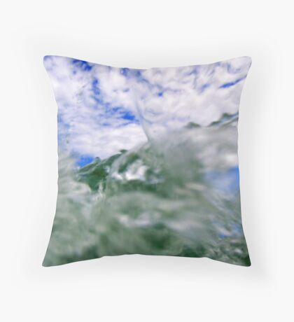 Hole to the sky Throw Pillow