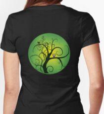 hoohoo - tee Womens Fitted T-Shirt