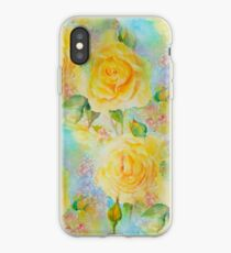 Happy roses iPhone Case