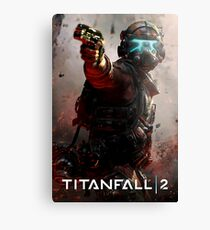 The Great Titanfall  Canvas Print